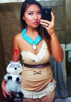 Pocahontas inspired thanksgiving meal and party ideas pocahontas pocahontas costume selfie diy solutioingenieria Gallery