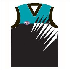 AFL Port Adelaide Jersey Cushion C A Australia