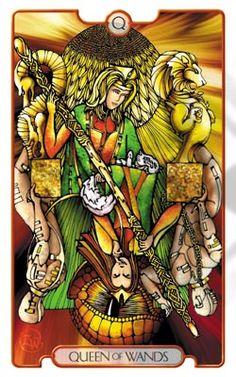 My other favorite Tarot deck right now, Revelations Tarot