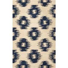 Tapestry Blue Ikat 8x10 Rug