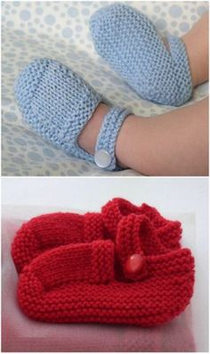 Knitted Baby Booties Free Patterns Cutest Ideas Ever - WHOot Best Crochet and Knitting Patterns Boys Knitting Patterns Free, Baby Booties Knitting Pattern, Baby Hat Patterns, Baby Shoes Pattern, Baby Hats Knitting, Knitting Socks, Baby Knitting Free, Beanie Pattern, Knitted Baby Boots