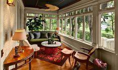 Закрытая веранда, пристроенная к дому: проекты, дизайн, фото интерьера
