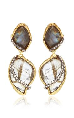 Phoenix 18K Gold Winding Vine Earrings by Alexis Bittar for Preorder on Moda Operandi