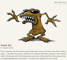 » Monster des Alltags Michel De Montaigne, Office Fun, Little Monsters, Troll, Scooby Doo, Character Design, Stress, Humor, Comics