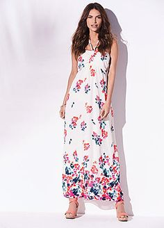 Floral Maxi Dress #kaleidoscope #floral #loveflorals