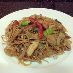 Fried noodles -- quick & nice.