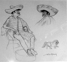 Mexican Men, Public School, Public Art, Collections, Digital, Pictures, Photos, Drawings