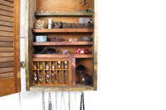 Wood Rustic Jewelry Display made from upcycled by TANGLeAndFoLd, $200.00