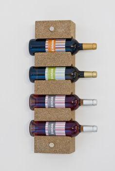 4 btl cork rack