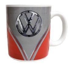 Campervan Gift - VW Red Campervan Collectible Mug, (http://www.campervangift.co.uk/vw-red-campervan-collectible-mug/)