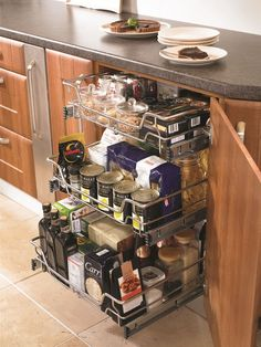 Kitchen Storage Solutions - Hugel Designer Kitchens & Bedrooms ...