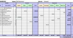 Bookkeeping Sheet Excel     Excel Bookkeeping Worksheet                                                          Download Here   Company Bo... Business Budget Template, Microsoft Excel, Periodic Table, Budgeting, Names, Technology, Teaching, Templates, Simple