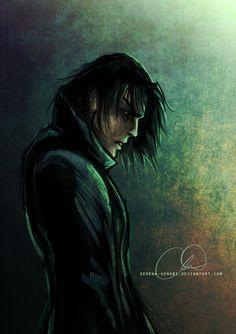 Young Severus Snape by Serena-Kenobi.deviantart.com