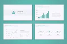 naga - powerpoint templatetugcu design co. on @creativemarket, Modern powerpoint