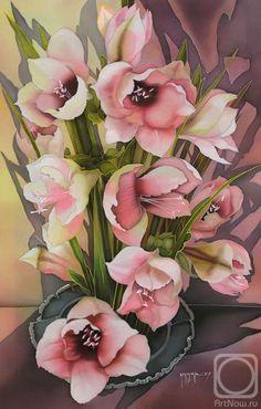 """Амариллис"" (Amarillis) by Соколова Надежда Степановна [Sokolova Nadezhda (Nadejda) Stepanovna], 2007"