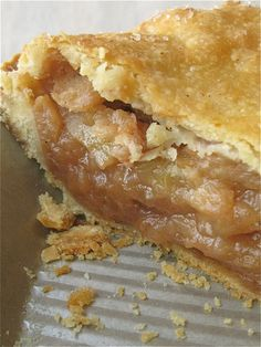 I followed the recipe for the filling and the pie came out delicious. Might add more apples than suggested.
