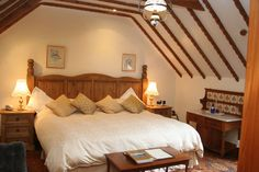 The Coach House Room at Penally Abbey, Near Tenby, Pembrokeshire