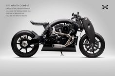 Confederate R135 Wraith Combat is another limited edition mechanical art from Confederate Motorcycles