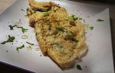 Truffle omelette.