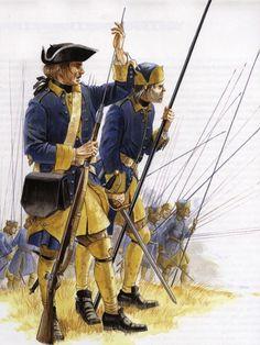 Swedish Uniforms - The Great Northern War