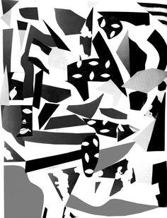 abstract collage: beata kruszynski