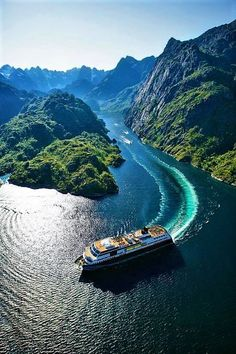 Hurtigruten cruises - General information - Fjord Travel Norway Places Around The World, Oh The Places You'll Go, Places To Travel, Places To Visit, Around The Worlds, Lofoten, Wonderful Places, Beautiful Places, Les Fjords
