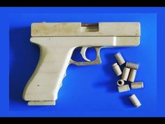 Shell Ejection Rubber Band Gun - Blow Back - YouTube
