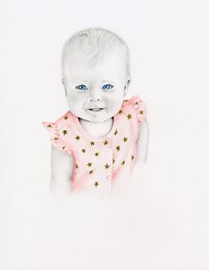 Custom Portraits Watercolor Painting Portrait by ABitofWhimsyArt