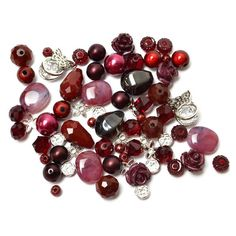 Bing Cherry Mini Bead Mix - Jesse James Beads