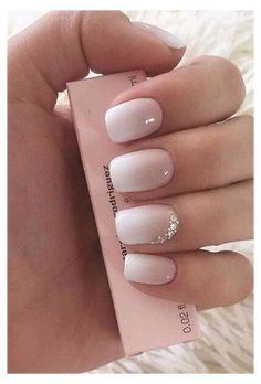 Square Nail Designs, Colorful Nail Designs, Nail Designs Spring, January Nail Colors, Cute Spring Nails, Summer Nails, Special Nails, Bride Nails, Bride Wedding Nails