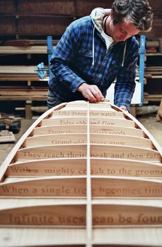 The Storyboard by Otter Surfboards using Western red cedar.