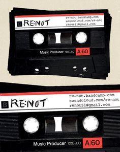 Music producer renot business card design business card reff music producer renot business card design business card reff pinterest business cards colourmoves