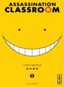 Couverture Assassination Classroom. I really really love this manga!!