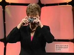 Joyce Meyer... GREAT analogy here... take a listen. Shes great.