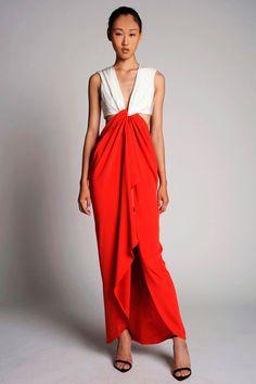 Catherine Malandrino's Spring 2014 collection.