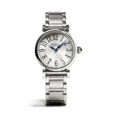 The Madison Stainless Steel Bracelet Watch from Coach