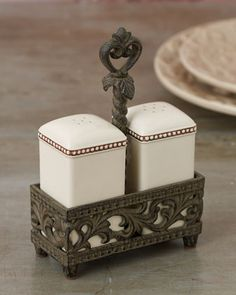 Salt & Pepper Set by GG Collection at Horchow. 45.50