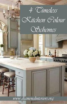 4 Timeless Kitchen Colour Schemes