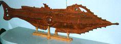 Jules Verne - Tin Nautilus - Andrew Nash