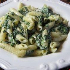 Spinach Alfredo Sauce (Better than Olive Garden®) Top Recipes, Copycat Recipes, Sauce Recipes, Pasta Recipes, Dinner Recipes, Cooking Recipes, Noodle Recipes, Restaurant Recipes, Pizza