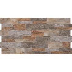 MSI Timber Chocolate (Brown) 6 in. x 24 in. Glazed Ceramic Floor and Wall Tile cases / 512 sq. Kitchen Backsplash Peel And Stick, Stone Backsplash, Backsplash Ideas, Ceramic Wall Tiles, Porcelain Tile, Brick Look Tile, Rustic Bathrooms, Rustic Kitchens, Faux Stone Panels