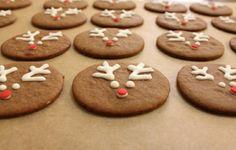 gingerbread reindeer.