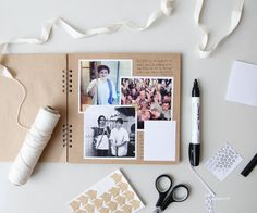 Tips on How to Scrapbook Like a Pro — Root & Branch Paper Co. Tips on How to Scrapbook Like a Pro — Root & Branch Paper Co. Couple Scrapbook, Wedding Scrapbook, Scrapbook Journal, Travel Scrapbook, Diy Scrapbook, Scrapbook Cover, Simple Scrapbook Ideas, Scrapbook Ideas For Couples, Friend Scrapbook