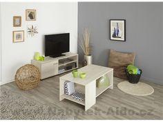 Nábytek do obývacího pokoje Infinity BATV-TABA Open Shelving, Shelves, Wall Outlets, Neat And Tidy, Media Center, Tabata, Corner Desk, Contemporary, Storage
