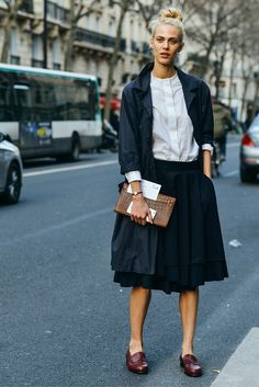 ..Aymeline Valade | Tommy Ton
