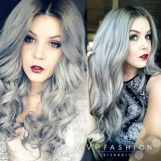 I would so love silver hair!