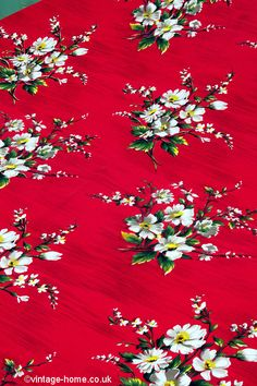 Vintage Home - French Alpine Flower Fabric.