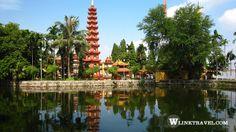 West Lake & Tran Quoc Pagoda