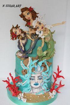 Sweet Summer Collaboration - Cake by N SUGAR ART