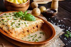 Kolozsvari Kaposzta - Varza a la Cluj, layered sour cabbage Musaka, Sour Cabbage, Quiche Lorraine, Lasagna, Hummus, Risotto, Easy Meals, Lunch, Cheese